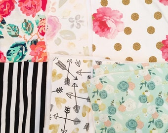 Mix & match burp cloths