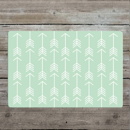 Mint Arrow Rug Nursery Rug Woodland Rug Mint Rug