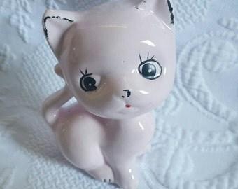 Vintage pink  KITSCH CAT