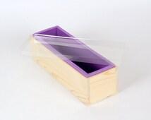 Wooden Soap Mold Silicone Liner DIY Soap Making Loaf Cake Baking Tools 1.5 KG D0018
