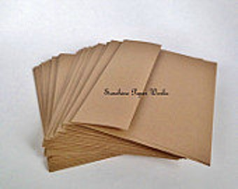 Kraft A6 Envelopes - 25 ct - 4.75 X 6.5 inches - 70# - Acid and Lignin Free