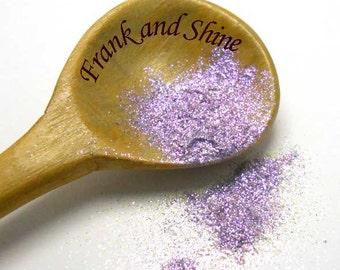 Glow Purple glitter pigment for nail polish