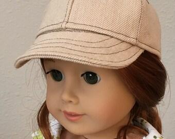 """Baseball Caps for 18"""" American Girl Dolls"""