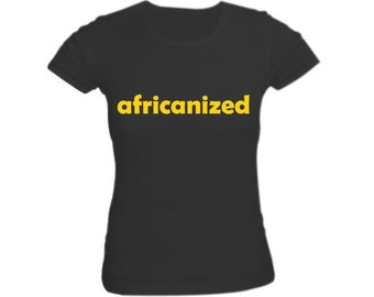 Africanized Black Shirt for Women