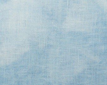 36 ct - Hand-Dyed Fabric - Edinbourgh Linen - Bright Skies (marbled)