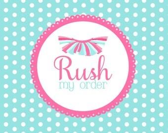 Rush My Order Listing for Petit Tutu Boutique
