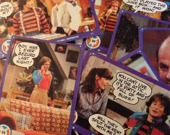 Vintage Trading Cards - Mork and Mindy