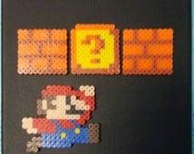 Super Mario Bead Canvas