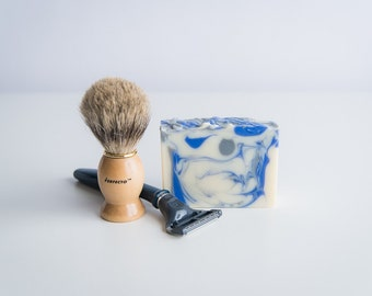 Shave and a Haircut Handcrafted Soap - For Men - Vegan Soap - Masculine soap