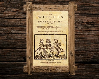 Witches print, witchcraft poster, magic art, occult home decor, esoteric wall art, devil poster #416