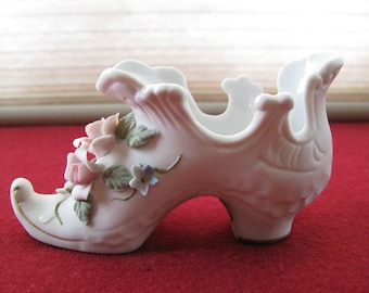Vintage Lefton China Shoe