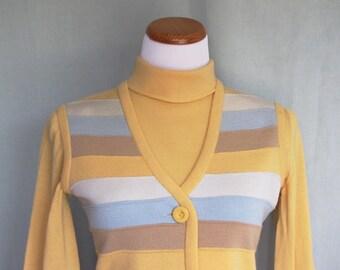 Vintage 3-Piece Women's Wool Suit 1960s