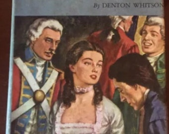 Vintage 1953 The  Governor's Daughter By Denton Whitson HCDJ