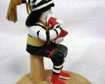 Hopi Kachina - Clown Kachina Doll - Watermelon Kachina - Koshari Kachina Doll