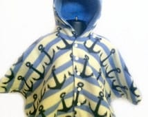Baby Shower Gift - Infant Car Seat Poncho - Toddler Car Seat Poncho - Baby Car Seat Poncho - Hooded Car Seat Poncho - Boys Car Seat Poncho