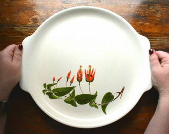 Vintage Salem Primrose 57x Ceramic 12in Serving Plate