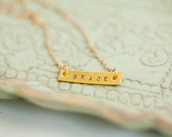 Grace Necklace-Gold