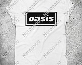 Oasis Noel Liam Gallagher Britpop 90s Rock Music Band T-Shirt - 000015