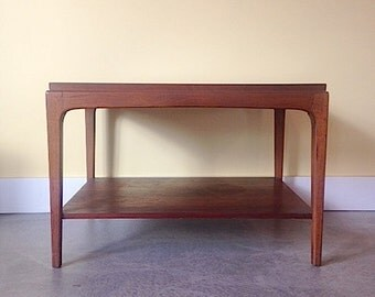 classic mid century lane side table