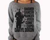 The Walking Dead Christmas Sweater - Daryl Dixon Sweatshirt