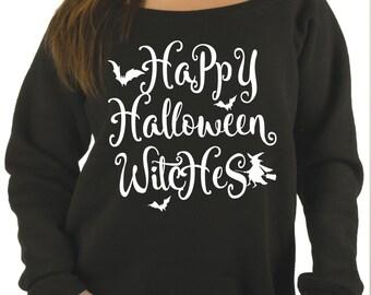 happy halloween sweater halloween sweatshirt funny halloween shirt womens halloween shirt raw