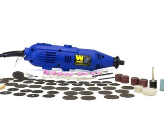 WEN 2305 Rotary Tool Kit with Flex Shaft, New, Free Shipping
