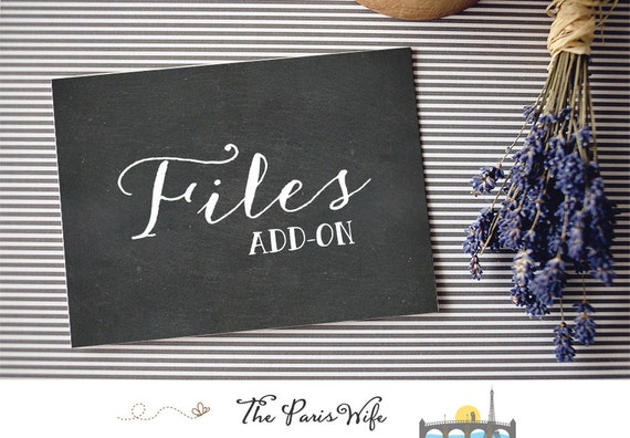 Add-on: PSD (Photoshop) or EPS (Illustrator) file for any premade logo design website logo wedding monogram logo watercolor floral logo