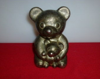 Vintage bear piggy bank
