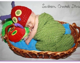 Hungry Caterpillar Cocoon and Hat
