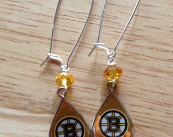 Boston Bruins earrings