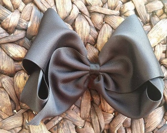 Large Southern Style Bow - Southern Style Black Bow - Southern Bow - Big Gumbo Black Bow -Southern Black Bow -  Big Bow - Very Big Black Bow