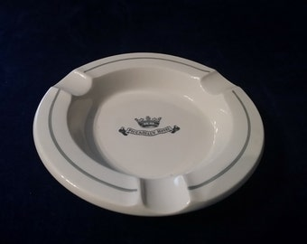 Vintage ashtray Piccadilly Hotel made by Dunn Bennett & Co. England