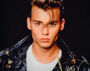 Johnny Depp Vintage Original Hand Signed 8X10 Autographed Photo