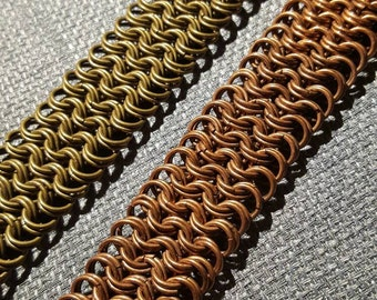 Custom Double Chainmaille Bracelet
