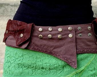 Belt, Pocket Belt, Steampunk, Psy, Lace