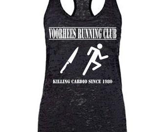womens halloween shirt, halloween tank, halloween workout tank, halloween workout shirt, funny workout tank, womens workout tank, running