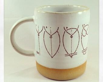 How to Draw an Owl Mug