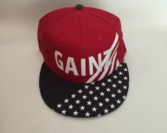 Gainz USA Snapback hat