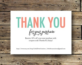 Printable Business Thank You Card