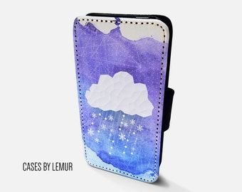 CLOUD Iphone 6 Wallet Case Leather Iphone 6 Case Leather Iphone 6 Flip Case Iphone 6 Leather Wallet Case Iphone 6 Leather Sleeve Cover Phone