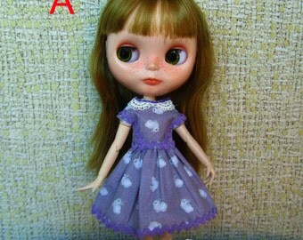 Dress for Blythe, Pullip (Bunny series)
