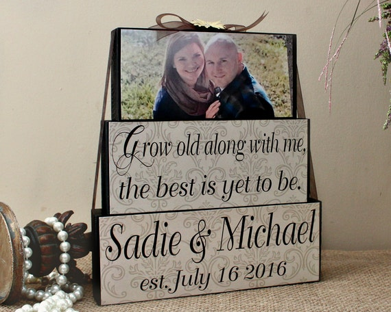Unique Wedding Gifts Canada : ... for Couples - Anniversary Gift - Personalized Wedding Gifts Canada