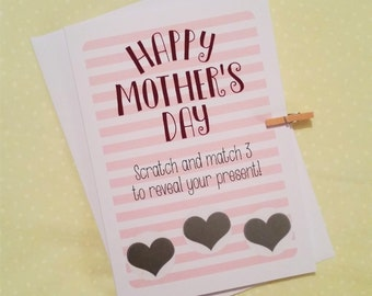 Funny Mother's Day Scratch Card