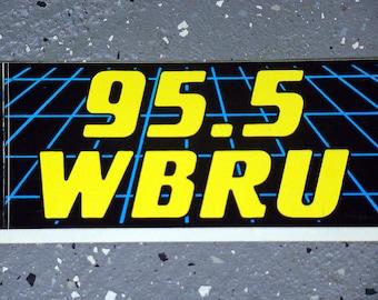 WBRU - Bumper Sticker - 1990's
