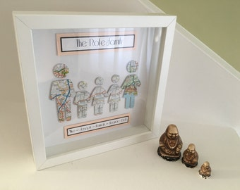 A Place in Your Heart - Family Box Frame