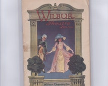 "An ""Experience"" original vintage 1915 playbill Wilbur Theatre Boston MA 1915 Experience George V. Hobart Wanda Carlyle May McManus John Todd"