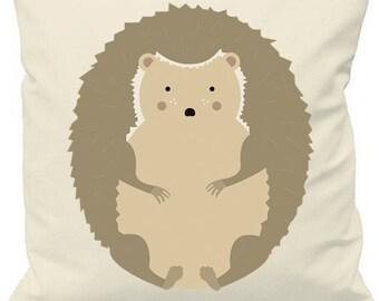 Hedgehog Print Cushion