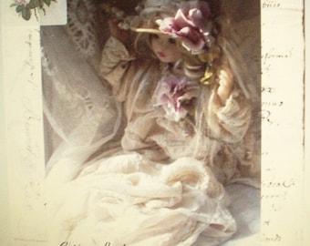 Corinne Layton Vintage Instant Digital Download Collage Card Vintage Shiloh (Suitable for Framing)