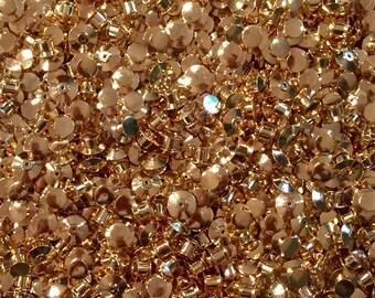 10 Gold Locking Backs