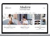 Blogger Template Responsive - Modern Blog Theme - Premade Blogger Template